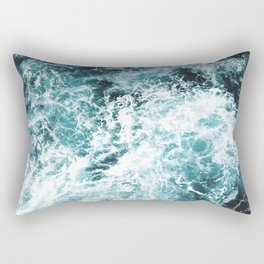 Sea Waves Rectangular Pillow