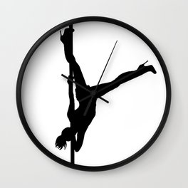 The Vertical Vixen Wall Clock