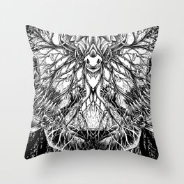 From Where its Roots Run Throw Pillow