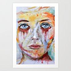 Deep Soul 11 - Hochkant Version Art Print
