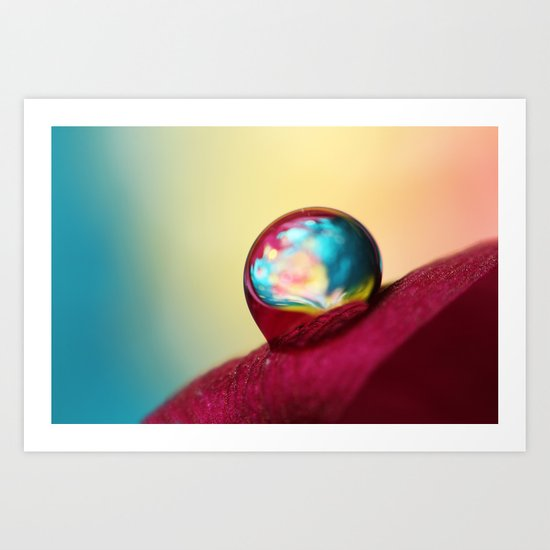 Sparkle in a Drop Art Print