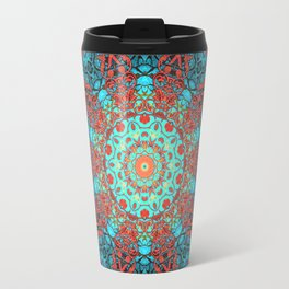 magic mandala 40 #mandala #magic #decor Travel Mug