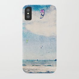 Kite Sailing  iPhone Case