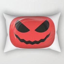 Red face design Rectangular Pillow
