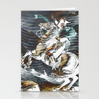 napoleon Stationery Cards featuring Napoleon by FakeFred