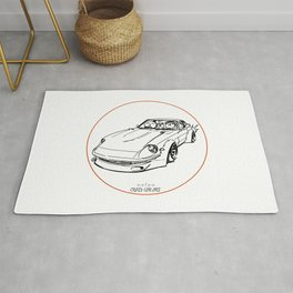 Crazy Car Art 0074 Rug