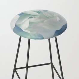 Peony in Blue White Bar Stool