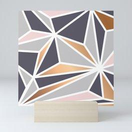 Geometry Gold 047 Mini Art Print