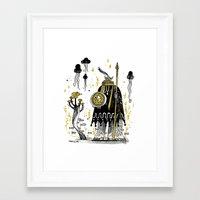 atlanta Framed Art Prints featuring ATLANTA by tarmasz