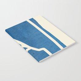 abstract minimal 57 Notebook