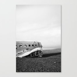 Abandoned DC-3 Fuselage Canvas Print