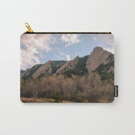 Flatirons Sunset Carry-All Pouch