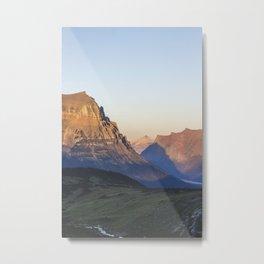 Glacier Mountain III Metal Print