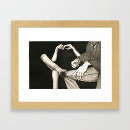 Warren and Joan Framed Art Print