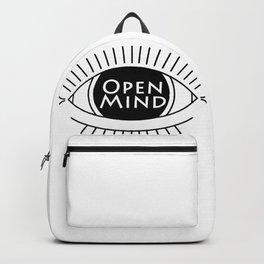 open mind eye Backpack
