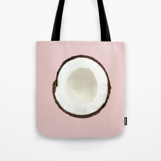 Pink coconut Tote Bag