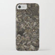Fit In (autumn night colors) iPhone 7 Slim Case