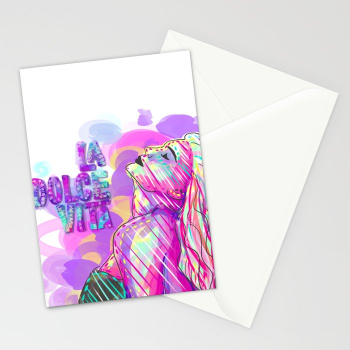 La Dolce Vita  Stationery Cards