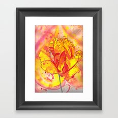 Beltane fire Framed Art Print