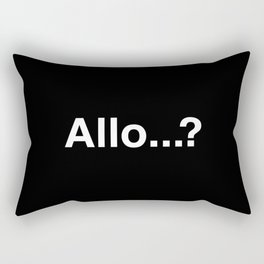 Allo...? Rectangular Pillow
