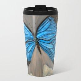 Ulysses Blue Butterfly Travel Mug