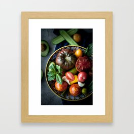 Heirloom Tomatoes Framed Art Print