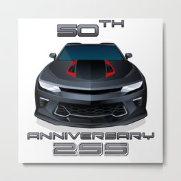 2017 Chevrolet Camaro 2SS 50th Anniversary Edition Metal Print