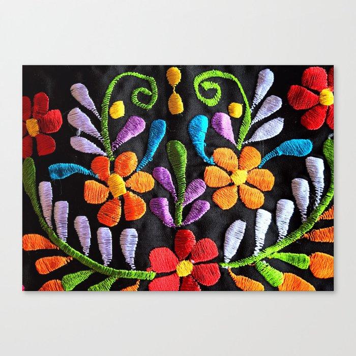 Mexican Flowers Leinwanddruck