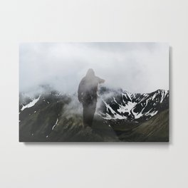 Seeking, Striving Metal Print