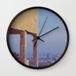 Elevated View Wall Clock