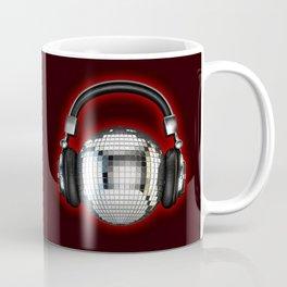 Headphone disco ball Coffee Mug