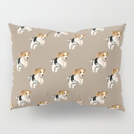 Beagle Pattern Pillow Sham