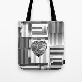 Jasper Heart in Vacancy Tote Bag