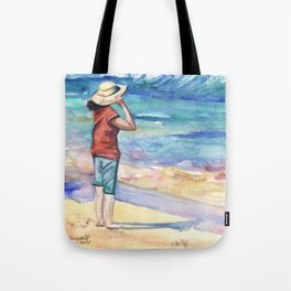 Another Nice Day at the Beach Tote Bag