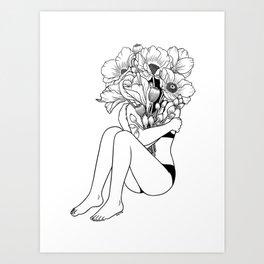 Love Myself Art Print