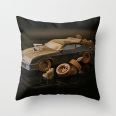 Mad Max Interceptor Throw Pillow