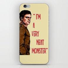 Dexter Morgan  B&W iPhone & iPod Skin