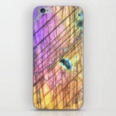 Golden Labradorite Gemstone iPhone Skin