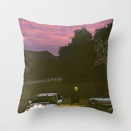 Cactus Jack Anime Throw Pillow
