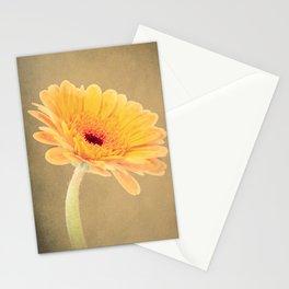 Yellow Gerbera Daisy Stationery Cards