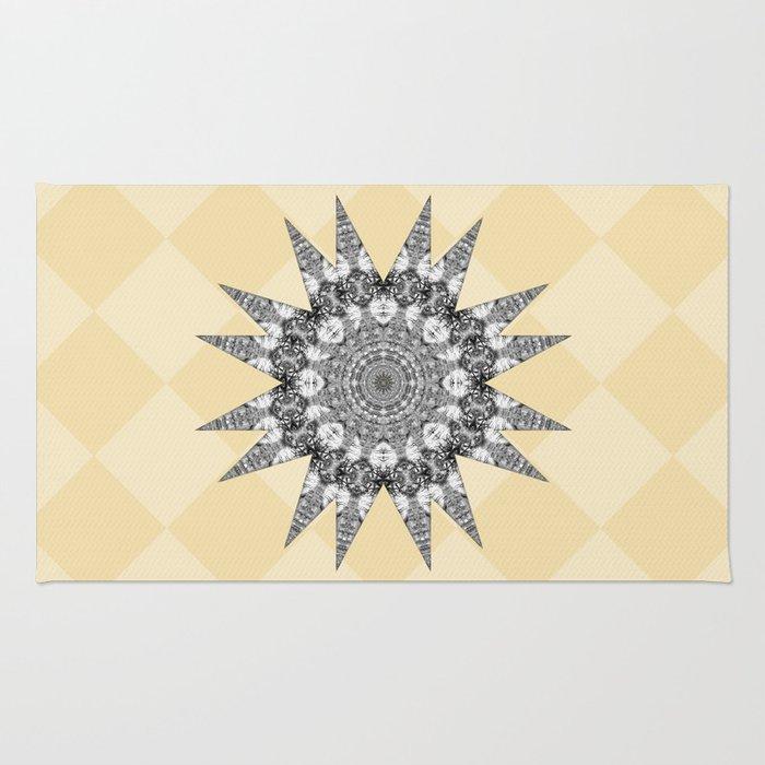 Checkerboard Mesa Rug
