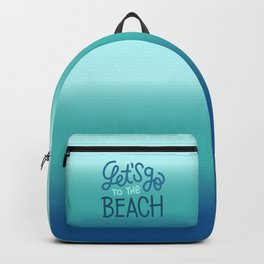 Let's go to the beach 3 Backpack
