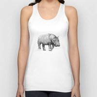 hippo Tank Tops featuring Hippo by 1 of 20