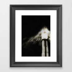It came at night Framed Art Print