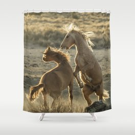 Rough Play Shower Curtain