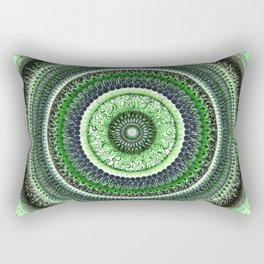 Living Forest Mandala Rectangular Pillow