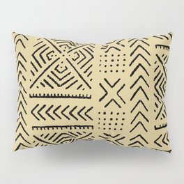 Line Mud Cloth // Tan Pillow Sham
