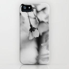 Black & White Spring - Fine Art Photograhy iPhone Case