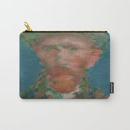 Gliteched Van Gogh Carry-All Pouch