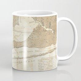 Vintage Map of Pensacola Florida (1780) Coffee Mug